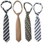 Bunte Krawatten