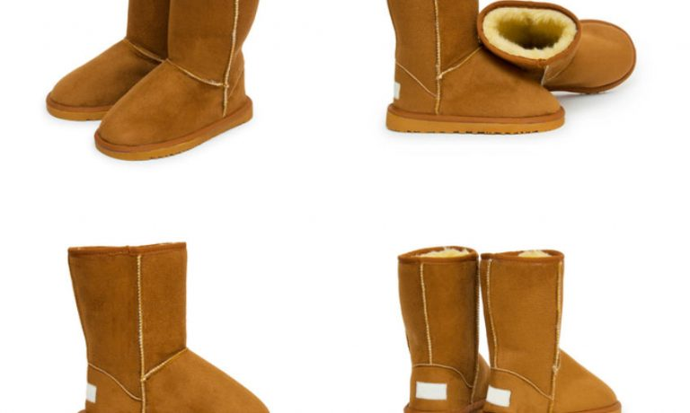 Uggs in beige