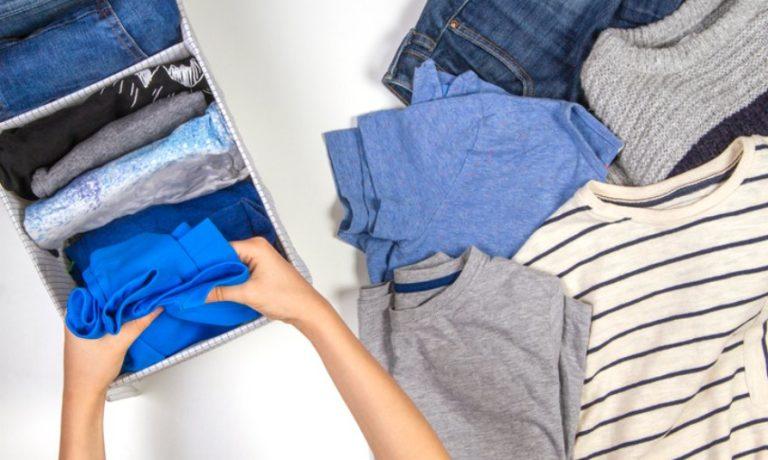 Kleidung Aussortierung