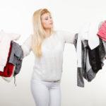 Kleiderschrank entrümpeln - Pünktlich zum Jahresbeginn Ballast abwerfen!