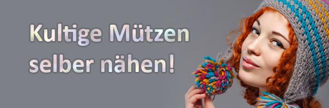 Anleitung & Schnittmuster: kultige Mützen selber nähen!